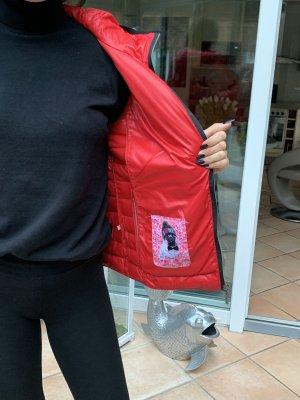 Frieda & Freddies New York Quilted Jacket brick red