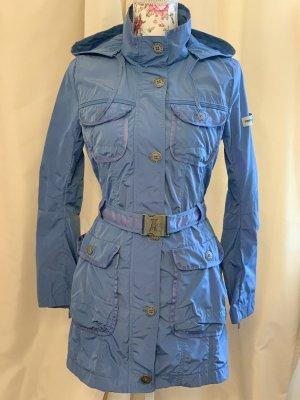 Frieda & Freddies Trenchcoat blau Gr. S