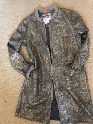 Frieda & Freddies New York Long Jacket grey-khaki