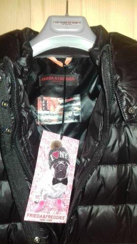 Frieda & Freddies New York Manteau en duvet noir