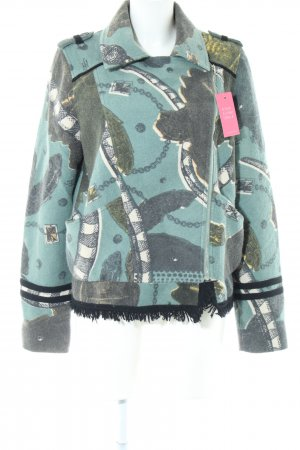 Friendly Hunting Übergangsjacke abstraktes Muster Casual-Look
