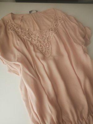 friendtex Bluse Shirt altrosa 34 Xs neuwertig