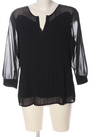 Friendtex Long Sleeve Blouse black casual look