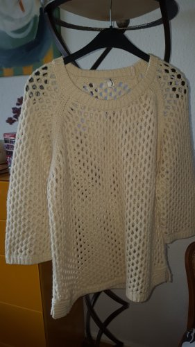 Friendtex Coarse Knitted Sweater natural white polyacrylic