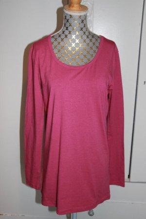 Friendtex Long Shirt magenta modal fibre