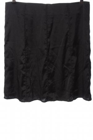 Friendtex Miniskirt black flecked casual look