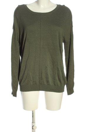 Friendtex Crewneck Sweater khaki casual look
