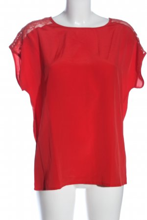 Friendtex Short Sleeved Blouse red casual look