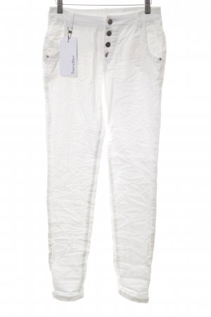 Friendtex Slim Jeans white casual look