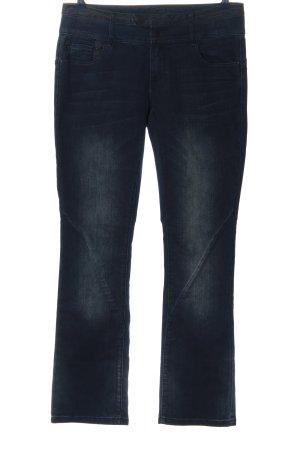 Friendtex Straight-Leg Jeans blau Casual-Look