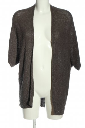 Friendtex Knitted Cardigan brown casual look