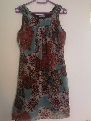 Friendtex Mini Dress brown-turquoise