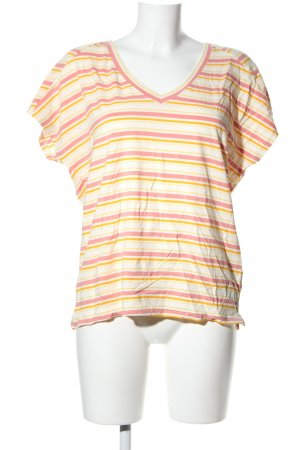 Friendtex V-Neck Shirt striped pattern casual look