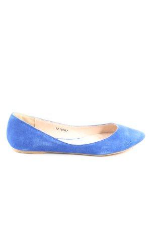Friis & Company Ballerinas mit Spitze blau Casual-Look