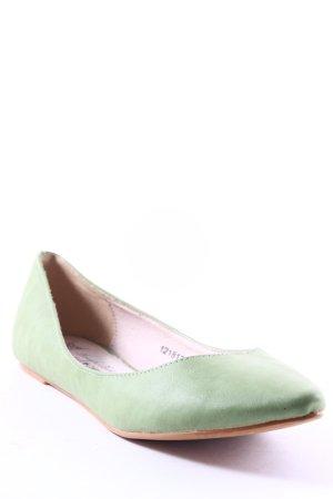 Friis & Company Ballerinas mit Spitze hellgrün schlichter Stil