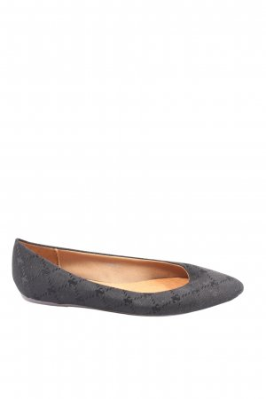 Friis & Company Foldable Ballet Flats light grey allover print casual look