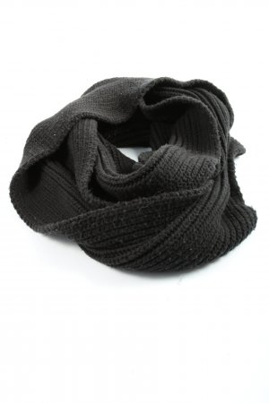 Friis & Company Crochet Scarf black casual look