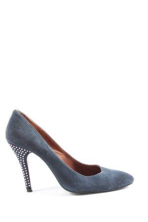 Friis & Company High Heels blau Casual-Look