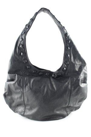 Friis & Company Shopper schwarz Nietenelemente