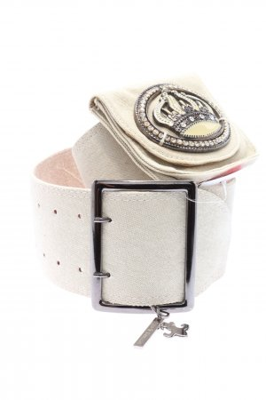 Friis & Company Waist Belt white wet-look