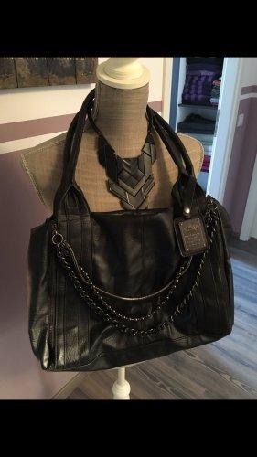 Friis&Company Tasche mit schwarzen Ketten