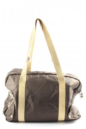 FRIIS Travel Bag brown-natural white casual look