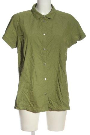 Frilufts Camicia a maniche corte verde stile casual