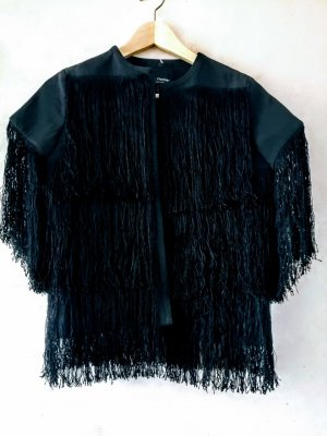 Chaqueta tipo blusa negro
