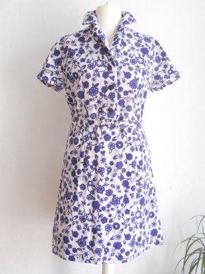 Frisches Vintage Sommerkleid Gr. 40