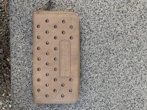 Fritzi aus preußen Wallet light brown-orange imitation leather