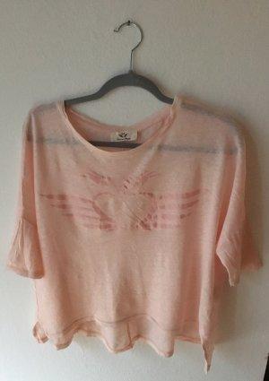 Fritzi aus preußen Oversized Shirt light pink linen