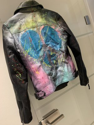Fritzi aus preußen Leather Jacket multicolored