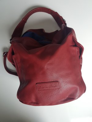 Fritzi aus preußen Pouch Bag dark red-carmine imitation leather