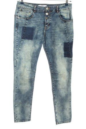 Fritzi aus preußen Jeans boyfriend bleu style décontracté