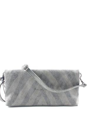 Fritzi aus preußen Clutch graubraun-dunkelgrau grafisches Muster Casual-Look