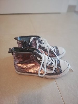 Fritzi aus preußen Lace-Up Sneaker bronze-colored