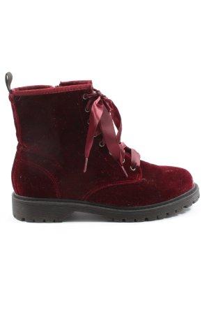 Fritzi aus preußen Chukka boot rouge style décontracté