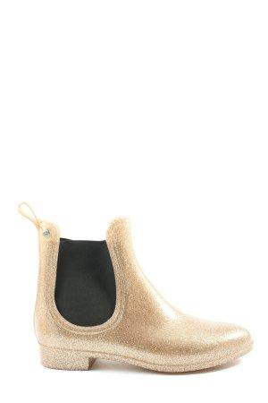 Fritzi aus preußen Gumowe buty złoto W stylu casual