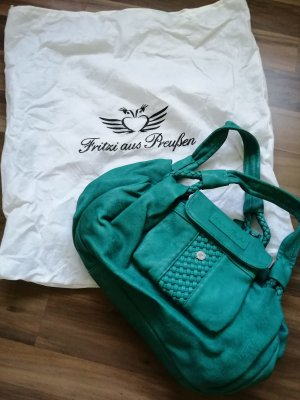 Fritzi aus preußen Handbag orange-turquoise