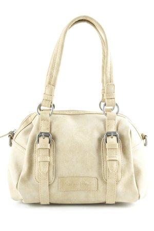 Fritzi aus preußen Carry Bag beige Leather logo appliqué