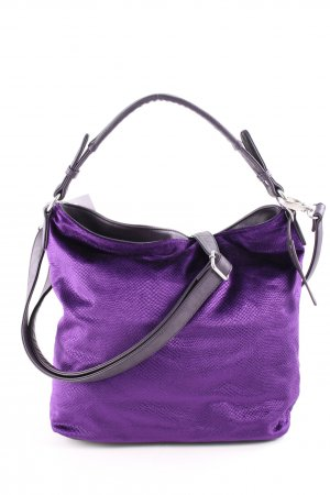 Fritzi aus preußen Carry Bag lilac animal pattern extravagant style