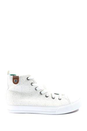 Fritzi aus preußen High Top Sneaker weiß Casual-Look
