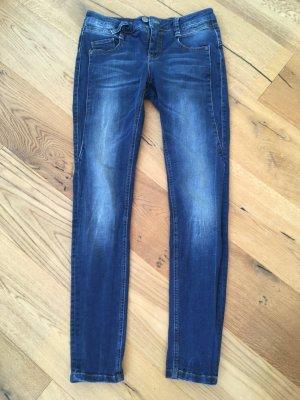 Fritzi aus preußen Skinny Jeans blue cotton