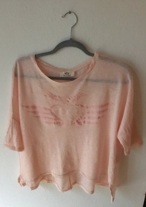 Fritzi aus preußen Oversized Shirt light pink linen