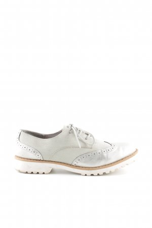 Fritzi aus preußen Oxfords silver-colored casual look