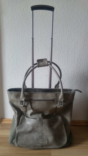 Fritzi aus preußen Trolley grey-dark grey imitation leather