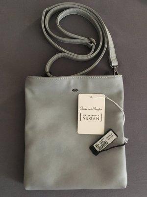 Fritzi aus preußen Crossbody bag light grey-azure polyurethane