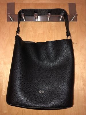 Fritzi aus preußen Handbag black-silver-colored