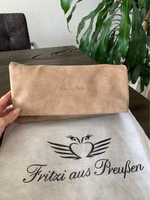 Fritzi aus Preußen Tasche, sandbraun, Kunstleder, NEU!!
