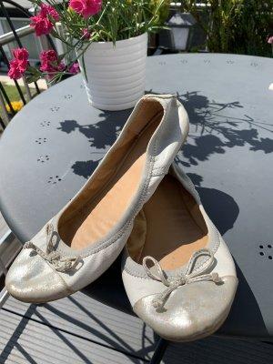 Fritzi aus preußen Slingback Ballerinas silver-colored-light grey